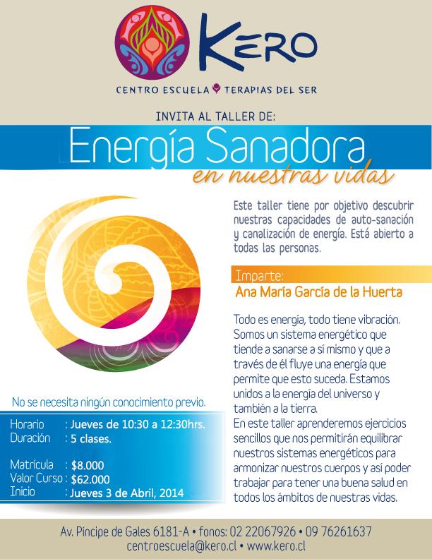 Sanación Energética abril, 2014